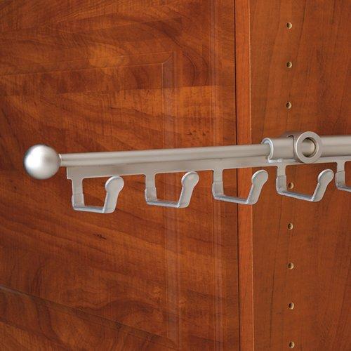 "Rev-A-Shelf Belt/Scarf 14"" Organizer Satin Nickel CBSR-14-SN"