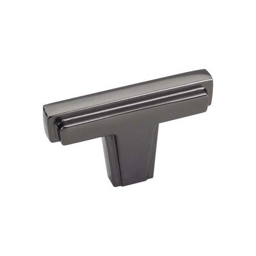 Jeffrey Alexander Lexa 2 Inch Diameter Black Nickel Cabinet Knob 259BN