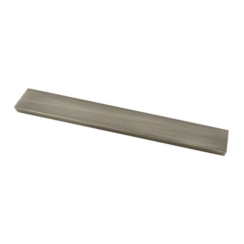 Urban Square 5-1/16 Inch Center to Center Heirloom Silver Finger Pull <small>(#P30948-904-C)</small>