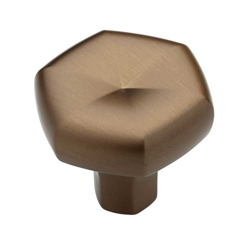 Stratus 1-5/16 Inch Diameter Brushed Bronze Cabinet Knob <small>(#P19024-228-C)</small>