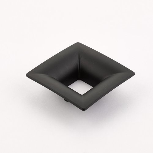 Schaub and Company Finestrino 1-1/4 Inch Center to Center Matte Black Cabinet Pull 440-MB