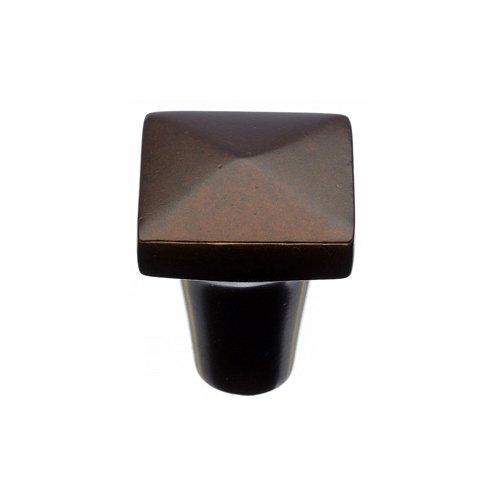 Top Knobs Aspen 7/8 Inch Diameter Mahogany Bronze Cabinet Knob M1513