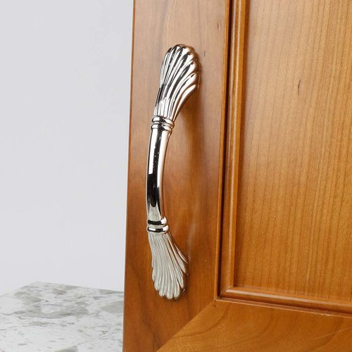 Century Hardware Orchid 3-3/4 Inch Center to Center Polished Nickel Cabinet Pull 26046-14
