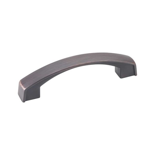 Jeffrey Alexander Merrick 3-3/4 Inch Center to Center Brushed Oil Rubbed Bronze Cabinet Pull 549-96DBAC