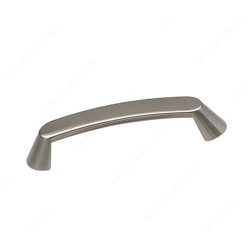 Richelieu Contemporary Classics 5-1/16 Inch Center to Center Brushed Nickel Cabinet Pull BP674128195