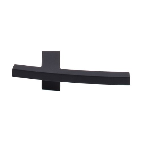 Top Knobs Sanctuary 3 Inch Length Flat Black Cabinet Knob TK85BLK