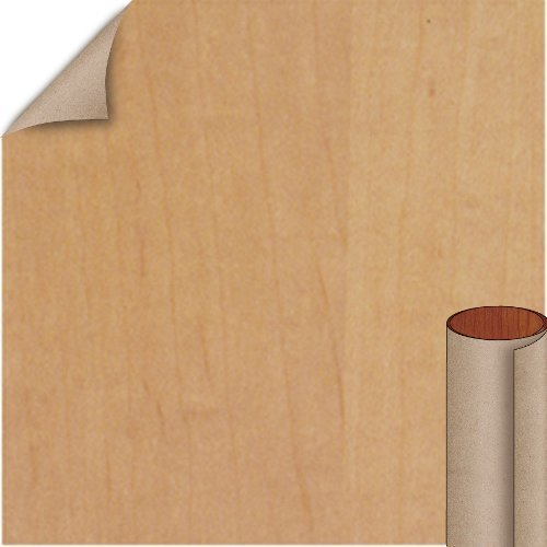 Nevamar Siren Maple Textured Finish 5 ft. x 12 ft. Countertop Grade Laminate Sheet WM0005T-T-H5-60X144