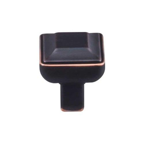 Top Knobs Transcend 1 Inch Diameter Umbrio Cabinet Knob TK670UM