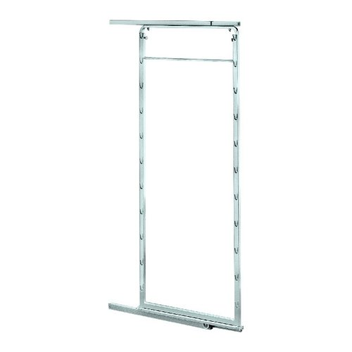 """Kessebohmer Pantry Pullout Door Frame 45-3/4"""" - 58-7/8"""" Silver 545.78.200"""