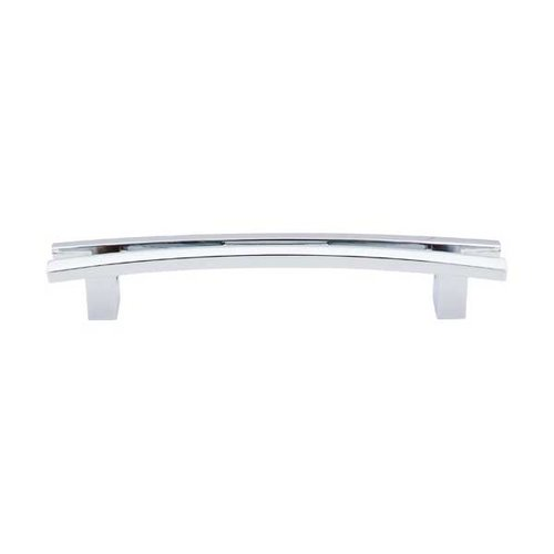 Top Knobs Sanctuary 5 Inch Center to Center Polished Chrome Cabinet Pull TK86PC