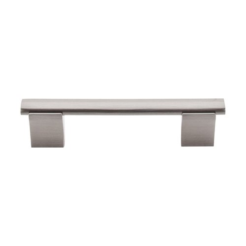 Top Knobs Bar Pull 3-3/4 Inch Center to Center Brushed Satin Nickel Cabinet Pull M1080