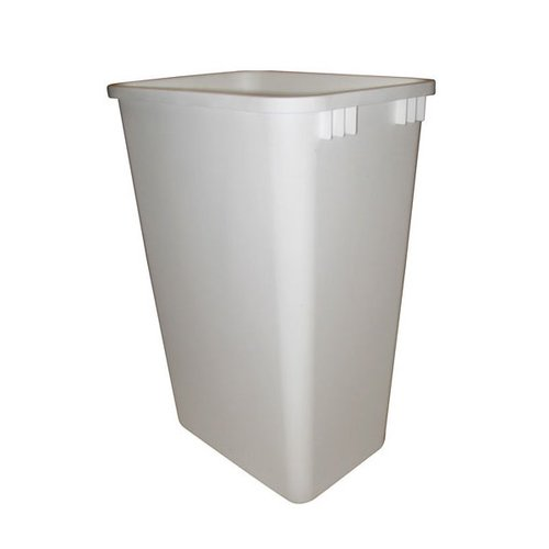 Rev-A-Shelf 50 Quart Premiere White Polymer Replacement Waste Bin RV-50-8