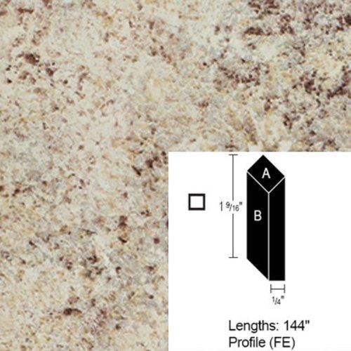 Wilsonart Bevel Edge - Golden Juparana - 12 Ft CE-FE-144-4932-38