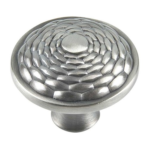 Mandalay 1-5/16 Inch Diameter Brushed Nickel Cabinet Knob <small>(#236-BRN)</small>