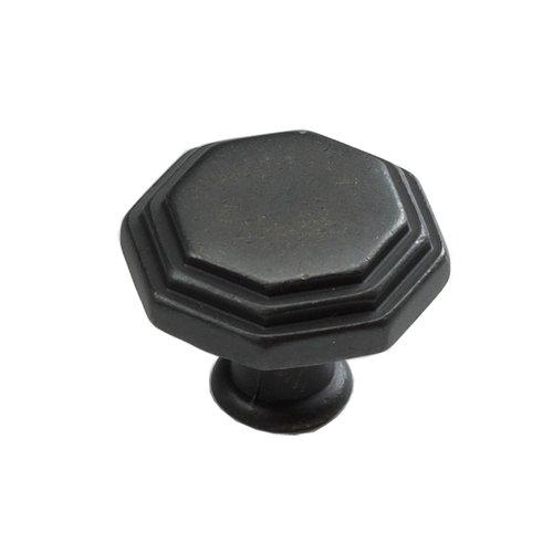 Schaub and Company Firenza Designs 1-1/8 Inch Diameter Dark Firenza Bronze Cabinet Knob 283-DFBZ