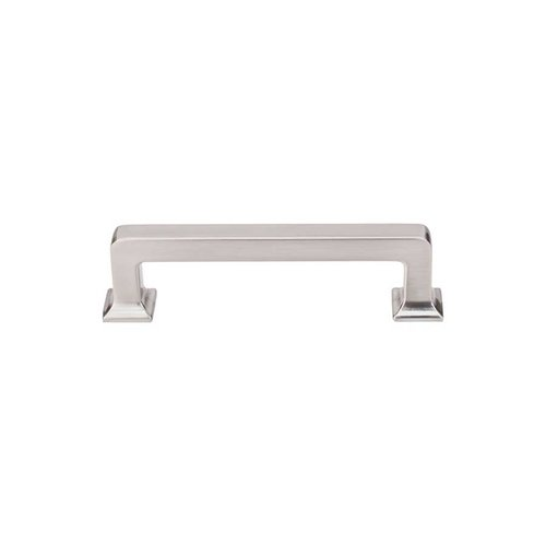 Top Knobs Transcend 3-3/4 Inch Center to Center Brushed Satin Nickel Cabinet Pull TK703BSN