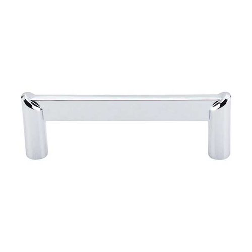 Top Knobs Sanctuary II 3-1/2 Inch Center to Center Polished Chrome Cabinet Pull TK239PC