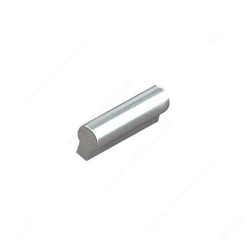 Richelieu Squared 3-3/4 Inch Center to Center Aluminum Cabinet Pull BP46013210