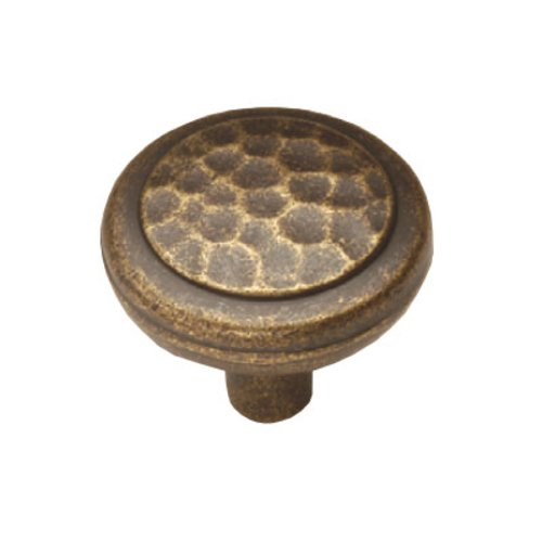Hickory Hardware Arts & Crafts 1-1/4 Inch Diameter Windover Antique Cabinet Knob P7528-WDA