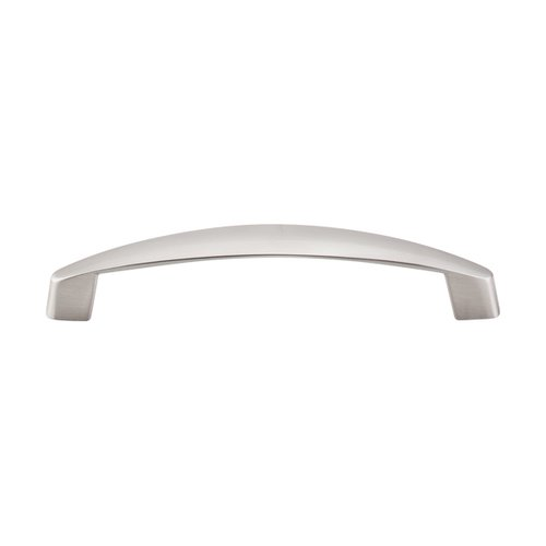 Nouveau III 5-1/16 Inch Center to Center Brushed Satin Nickel Cabinet Pull <small>(#M1140)</small>