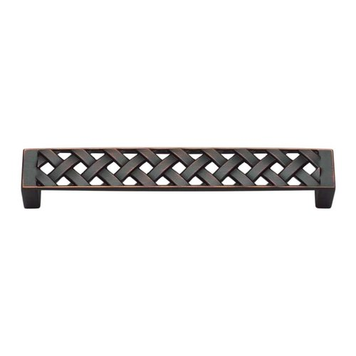 Atlas Homewares Lattice 5-1/16 Inch Center to Center Venetian Bronze Cabinet Pull 311-VB