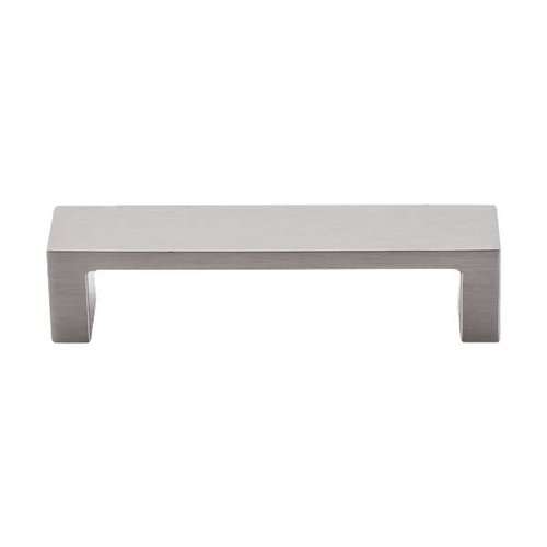 Top Knobs Sanctuary II 3-3/4 Inch Center to Center Brushed Satin Nickel Cabinet Pull TK250BSN