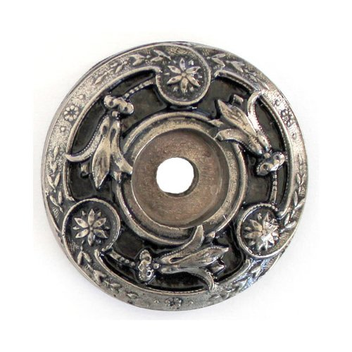 Notting Hill Jewel 1-5/16 Inch Diameter Antique Pewter Back-plate NHE-561-AP