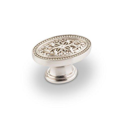 Jeffrey Alexander Odessa 1-3/4 Inch Diameter Satin Nickel Cabinet Knob 112SN