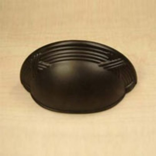 Century Hardware Georgian 3 Inch Center to Center Oil Rubbed Bronze Cabinet Cup Pull 15543-10B