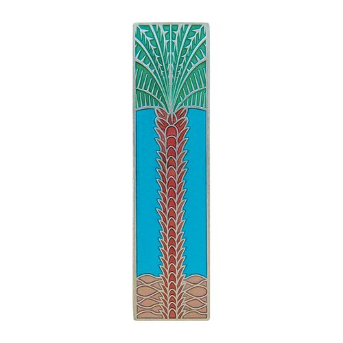 Tropical 3 Inch Center to Center Brilliant Pewter Cabinet Pull <small>(#NHP-322-BP-A)</small>