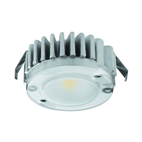 Hafele Loox 2040 12V LED Recess/Surface Mount Spotlight Warm White 833.72.140