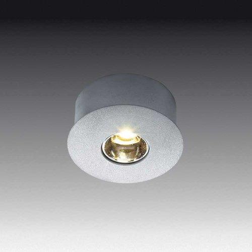Hera Lighting Eye-LED 1 Watt Diode-Brushed Aluminum Cool White EYELEDA/CW