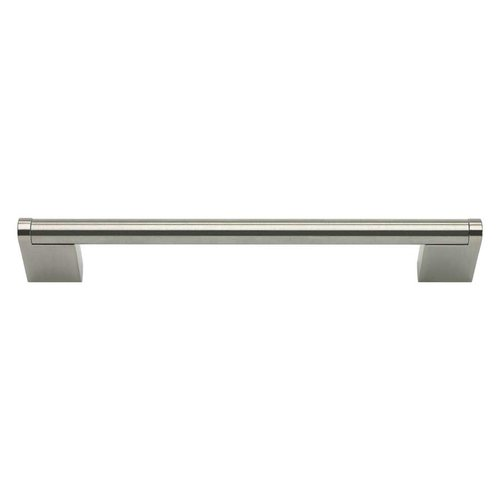 Atlas Homewares Round 6-5/16 Inch Center to Center Stainless Steel Cabinet Pull A858-SS
