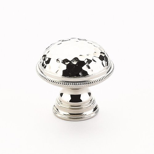 Schaub and Company Atherton 1-1/4 Inch Diameter Polished Nickel Cabinet Knob 571-PN