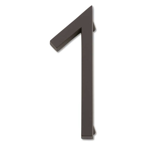 Modern Avalon House Number One Aged Bronze <small>(#AVN1-O)</small>