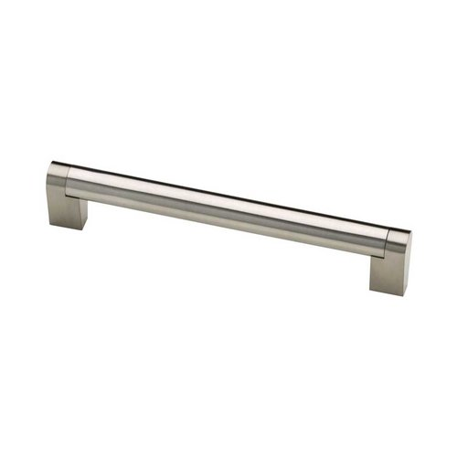 Liberty Hardware Stratford 6-5/16 Inch Center to Center Stainless Steel Cabinet Pull P28922-SS-C