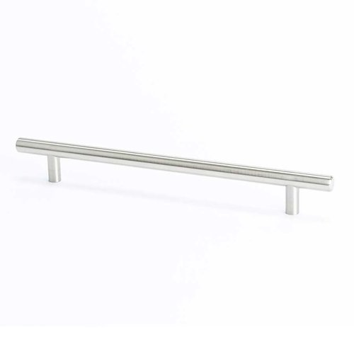 Berenson Tempo 7-9/16 Inch Center to Center Brushed Nickel Cabinet Pull 0806-2BPN-P