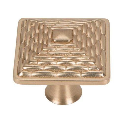 Atlas Homewares Mandalay 1-1/4 Inch Diameter Champagne Cabinet Knob 237-CM