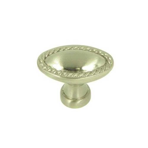 Stone Mill Hardware Palermo 1-3/8 Inch Diameter Satin Nickel Cabinet Knob CP80104-SN