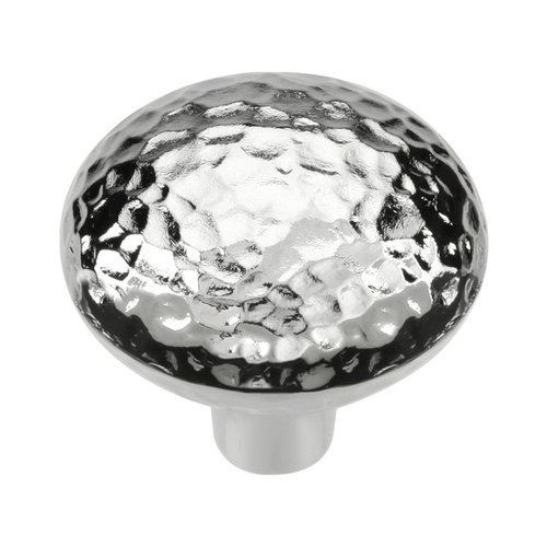 Hickory Hardware Mountain Lodge 1-3/8 Inch Diameter Chrome Cabinet Knob P3063-CH