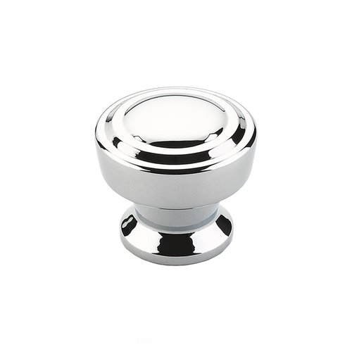 Schaub and Company Menlo Park 1-1/4 Inch Diameter Polished Chrome Cabinet Knob 533-26
