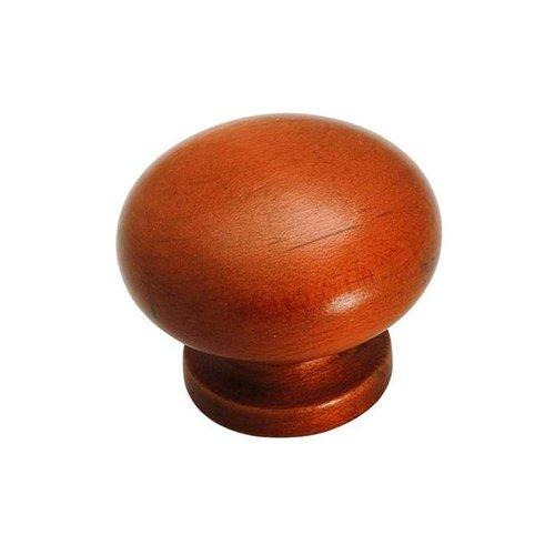 Amerock Allison Value Hardware Knob 1-1/2 inch Diameter Cherry Stain Maple BP880MA4