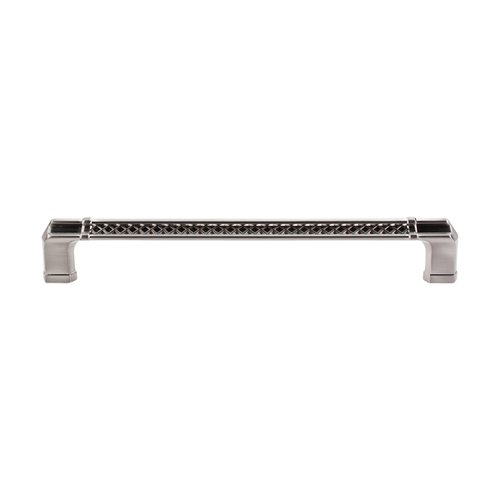Top Knobs Tower Bridge 12 Inch Center to Center Brushed Satin Nickel Appliance Pull TK208BSN