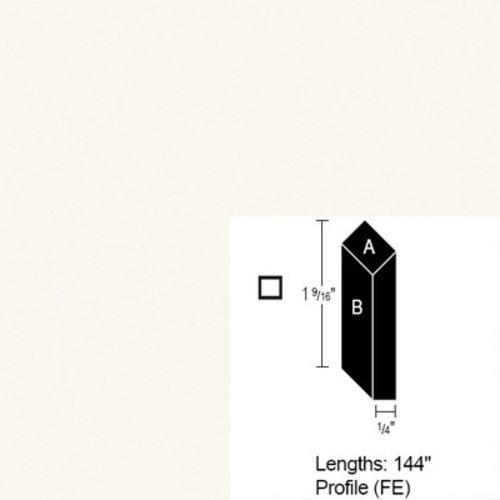 Wilsonart Bevel Edge - Frosty White - 12 Ft CE-FE-144-1573-60