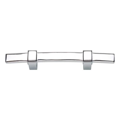 Atlas Homewares Buckle Up 3 Inch Center to Center Polished Chrome Cabinet Pull 302-CH