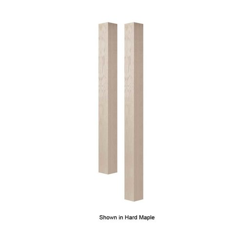 "Brown Wood 4"" Square Bar Column Unfinished Red Oak 01634010AK1"