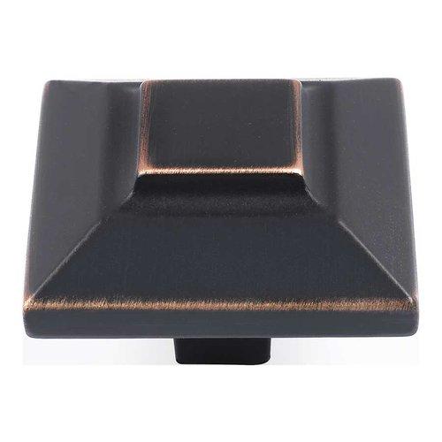 Atlas Homewares Trocadero 1-1/2 Inch Diameter Venetian Bronze Cabinet Knob 4002-VB