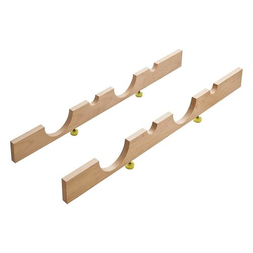 "Hafele Wine Storage Rack 22"" L Birch Finish 557.47.820"