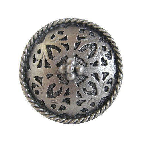 Notting Hill Jewel 1-1/16 Inch Diameter Antique Pewter Cabinet Knob NHK-112-AP