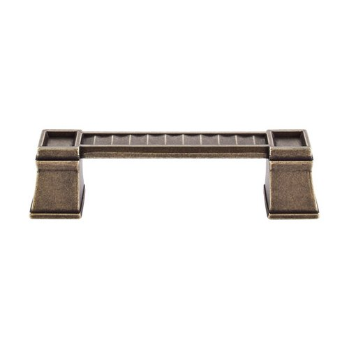 Top Knobs Great Wall 4 Inch Center to Center German Bronze Cabinet Pull TK187GBZ